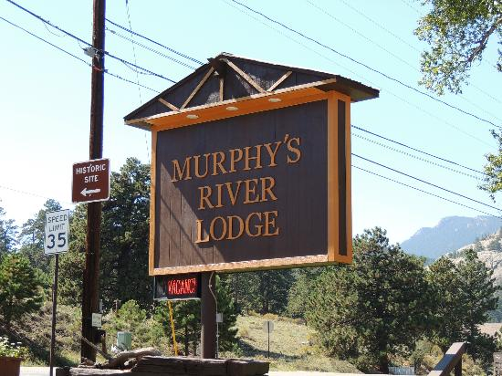 Murphy's River Lodge: sign