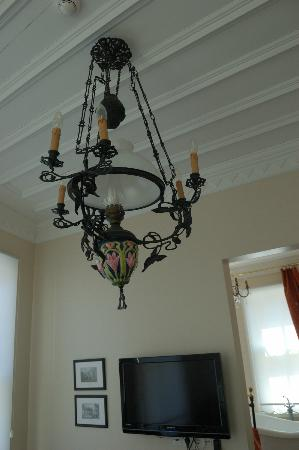 Villa Hagia Sophia: lamp in my room