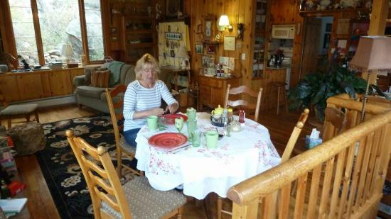 Barbara's B&B: inside the main building
