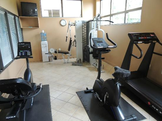 Quality Inn &amp; Suites Biltmore South: Modern Fitness Center
