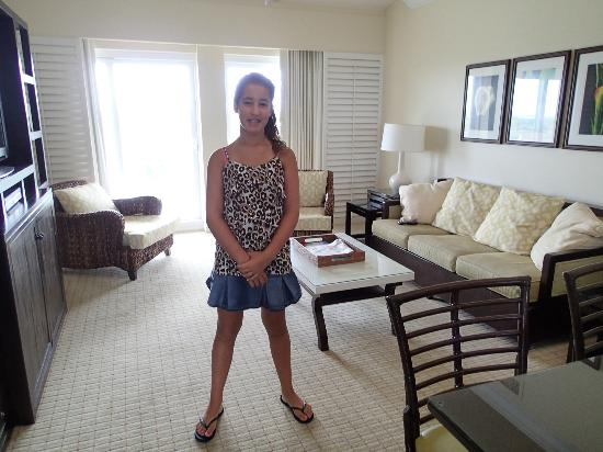 Longboat Key Club & Resort: living room area