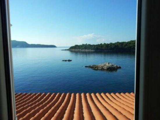 Sudurad, Kroatien: the view from our room