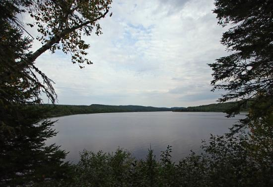 Aux Traditions: Lake in La Mauricie National Park