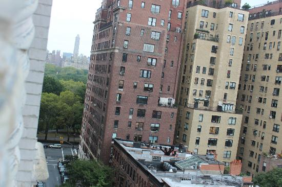 Comfort Inn Central Park West: Vista da Janela, Central Park ao fundo