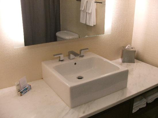 Hyatt Morristown: BATHROOM