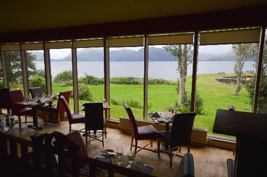 The View From The Seafood Restaurant Picture Of Holly Tree Hotel Kentallen Tripadvisor