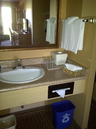 Accent Inn Vancouver Airport: Clean - well organized
