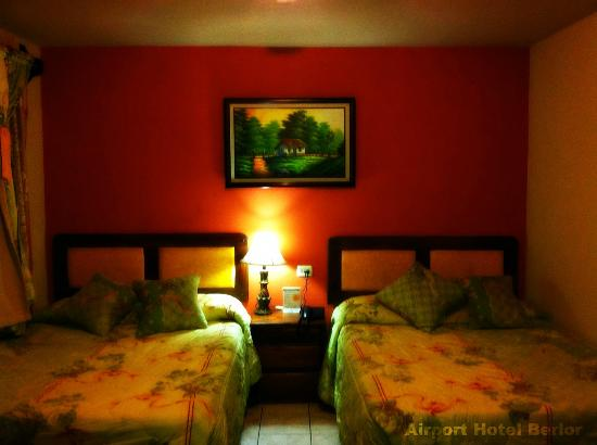 Airport Hotel Berlor: Comfortable rooms