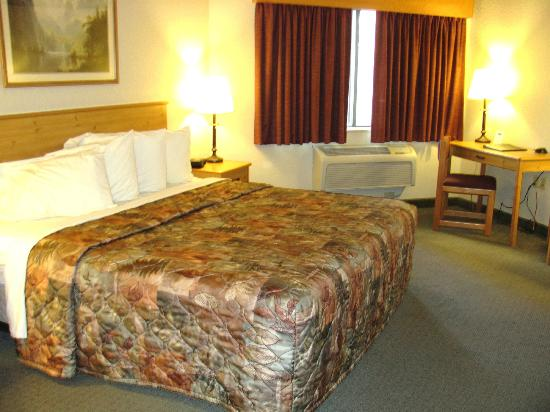 MountainView Lodge & Suites: Large King Room