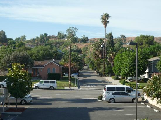 Loma Linda, Kalifornia: This is the view from my room (Room #39)