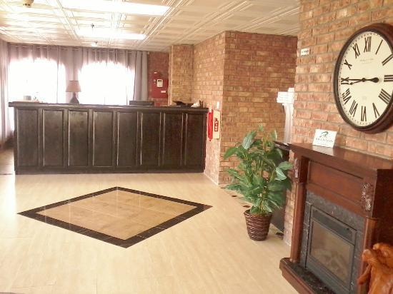 The Brick House Hotel: front desk/lobby