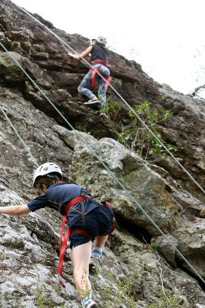 Mt Barney Lodge Country Retreat: Beginner Rock Climbers