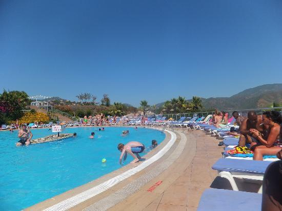 Wow....... what a view of Marmaris from the water park ...