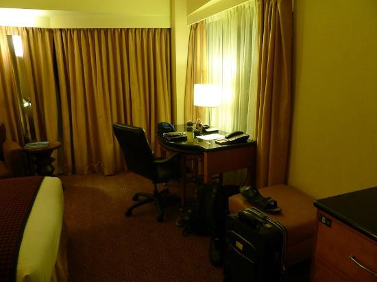 New York Hilton Midtown: My Working area for a week