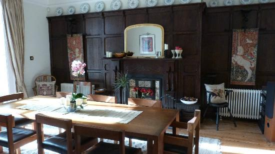 Glan y Dwr: Dining room