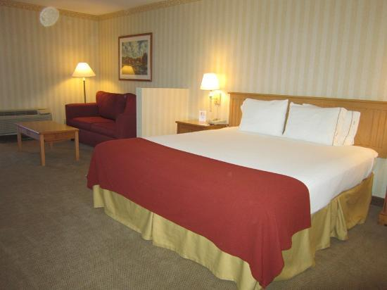 Holiday Inn Express Camarillo: Bed