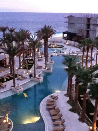 Grand Solmar Land's End Resort & Spa: From Room - Building B is to the right on the Beach