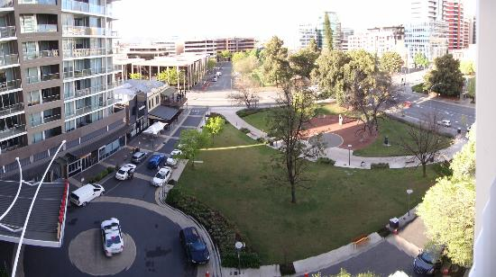 Crowne Plaza Adelaide: View from balcony