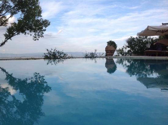 Villa Cicolina: View from pool