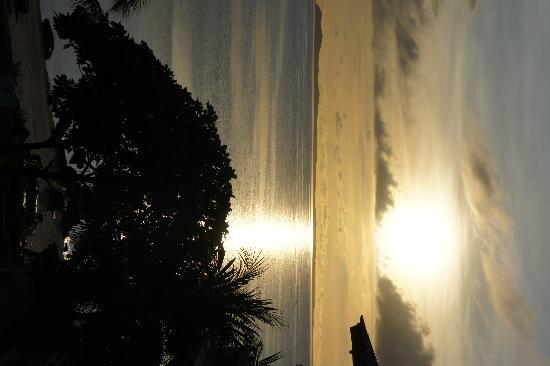 Bintan Agro Beach Resort: Sunrise view from our room