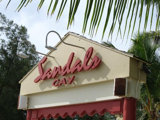 Sandals Royal Bahamian Spa Resort & Offshore Island: Just getting to the island