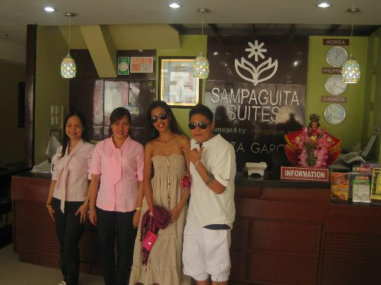 Sampaguita Suites-Plaza Garcia Location: friendly staff