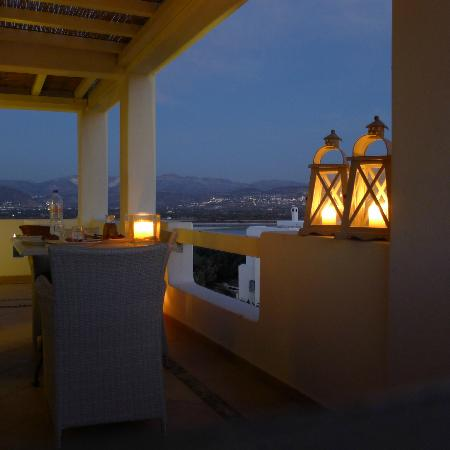 Naxian Collection: My romantic bday dinner on our balcony
