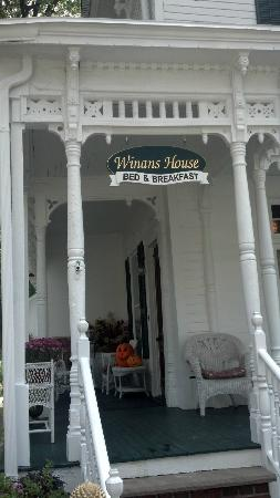 Winans House: Front Porch
