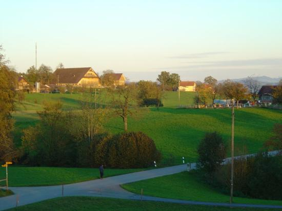 Rothenburg, Suiza: View from our rooms...