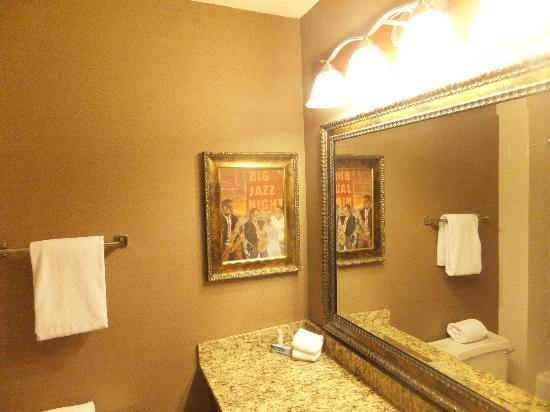 Hyatt Regency Rochester: bathroom
