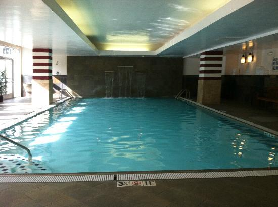 The Read House Historic Inn And Suites: indoor pool with waterfall