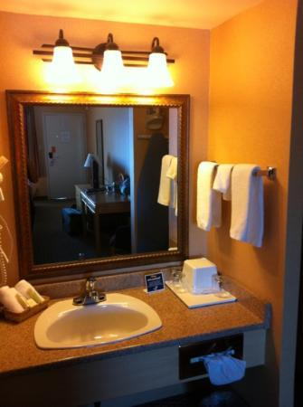 Accent Inn Kelowna: clean!