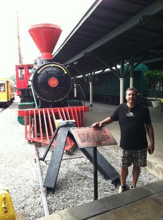 Chattanooga Choo Choo: You can walk on this train (it does not move)