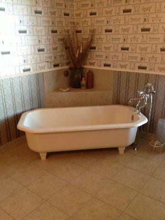Blue Goose Inn B&B : Captain Suite Bathroom
