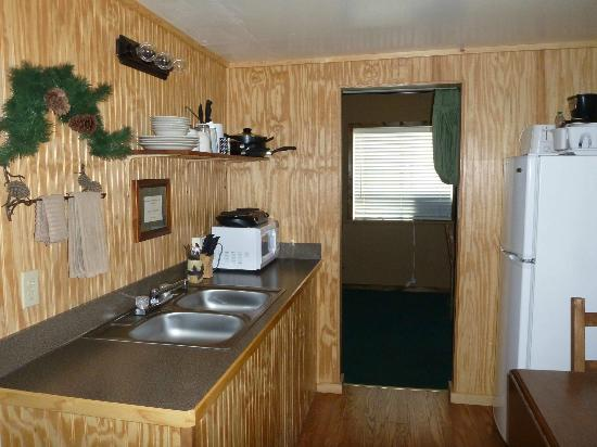 Evergreen Motel (West Yellowstone) - la cucina... inutilizzabile!