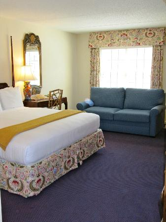 The Bellmoor Inn and Spa: Very comfortable room.