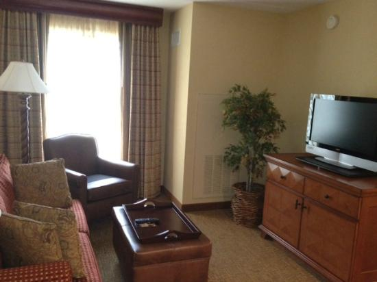 Homewood Suites by Hilton Lancaster: Living room