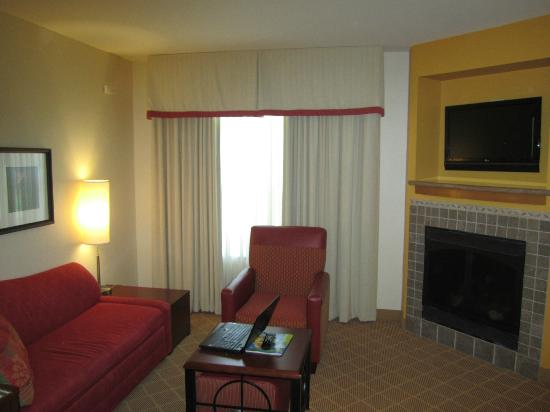 Residence Inn Marriott Lafayette: Living Area