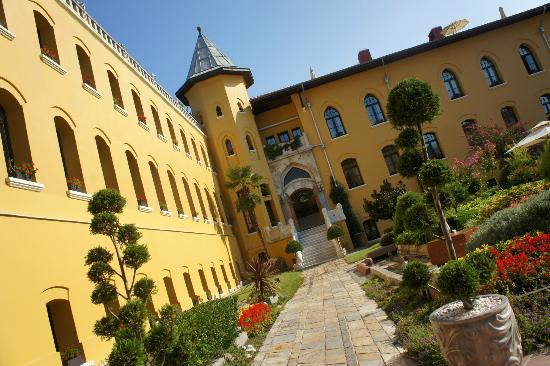 Lovely Courtyard Picture Of Four Seasons Hotel Istanbul