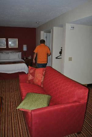 Residence Inn Cincinnati North / Sharonville: Couch/Bed