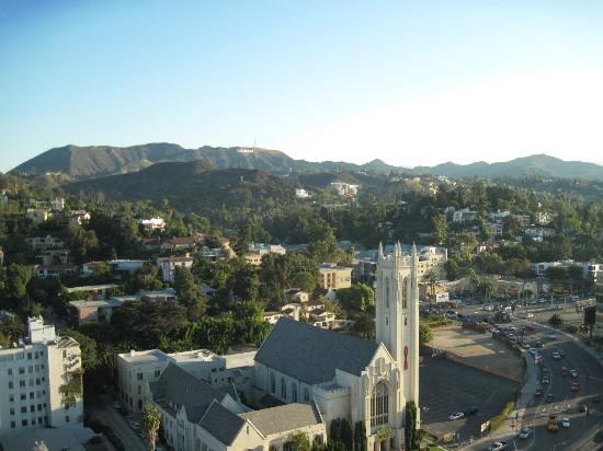 Loews Hollywood Hotel: View from Room 2005
