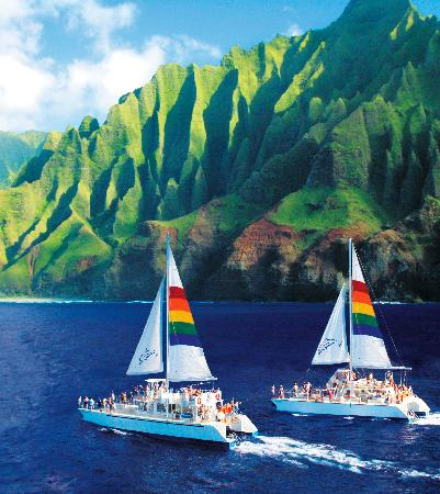 Product Deluxe Na Pali Coast Snorkel Cruise