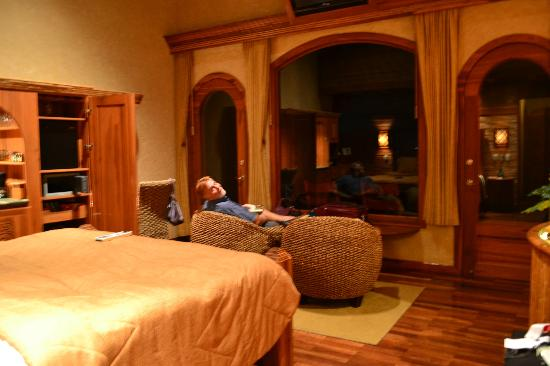 The Springs Resort and Spa at Arenal: relaxing at the end of the day