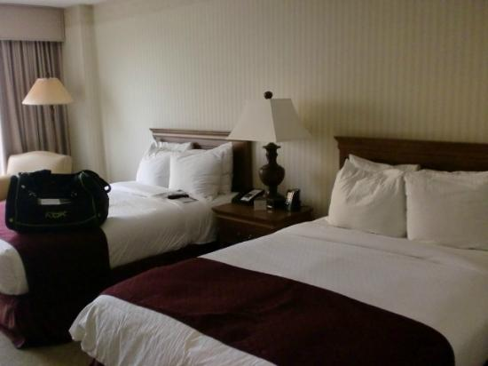 DoubleTree by Hilton Hotel Dallas - Campbell Centre: Beds