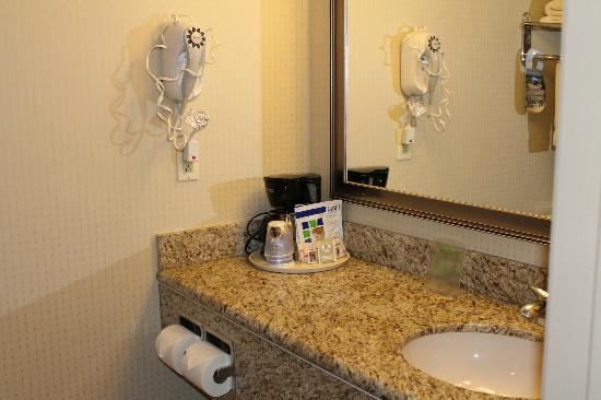 Holiday Inn Express San Diego Airport - Old Town: vanity