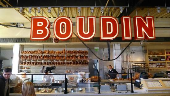 Boudin sign picture of boudin at the wharf san for Fishing store san francisco