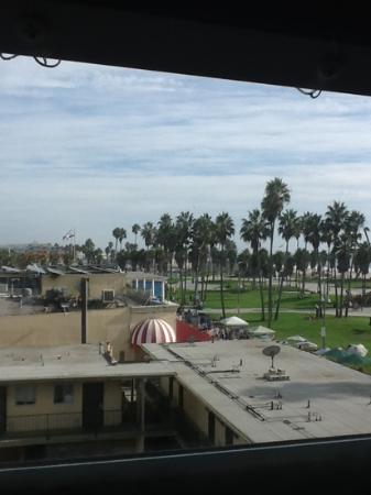 Venice Beach Suites &amp; Hotel: view from room 402