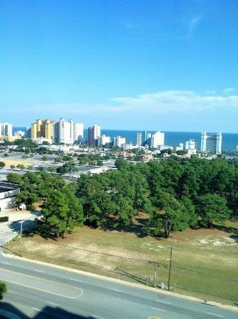 Sheraton Myrtle Beach Convention Center: View from our room on the 12th floor