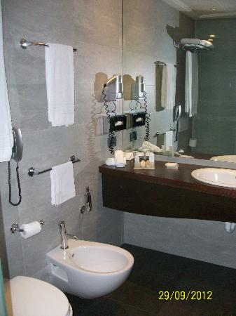 Hilton Garden Inn Bari: inside bathroom