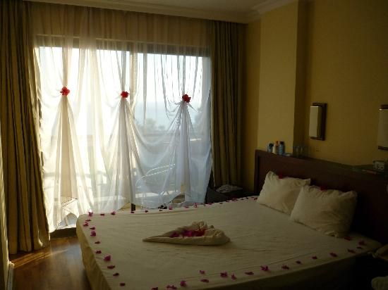 Turkish Mediterranean Coast, Turkey: our room